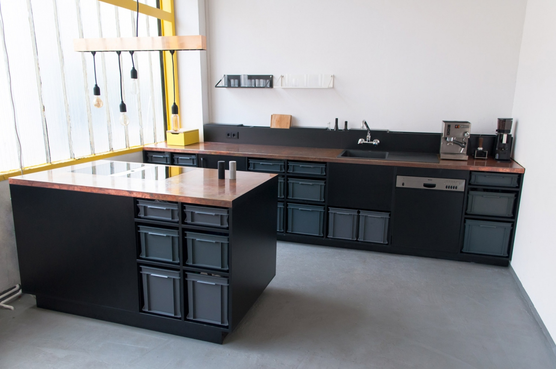 Mykilos Projects Berlin Studio Kitchen